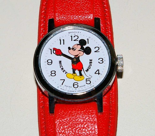 Ladies Mickey Mouse Wrist Watch