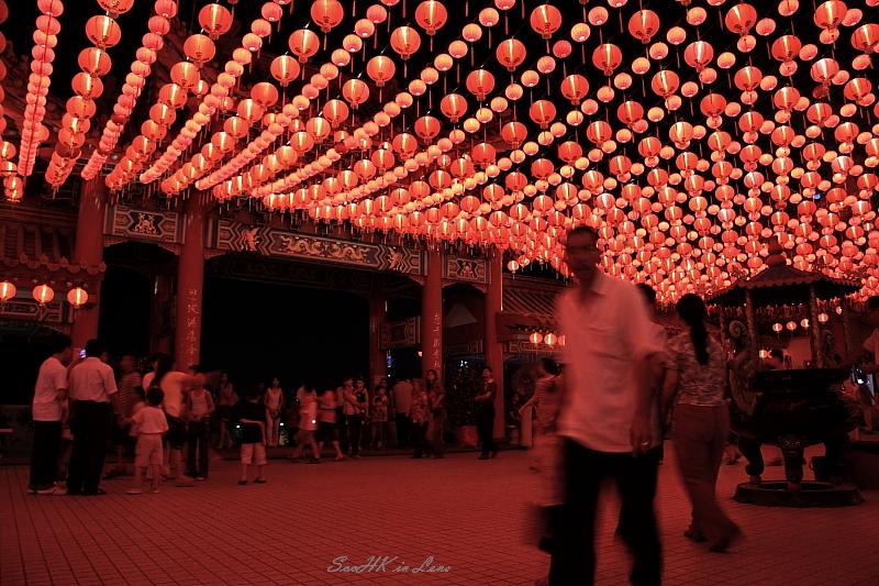 Skies of Lantern @ Thean Hou Temple, KL ,Malaysia