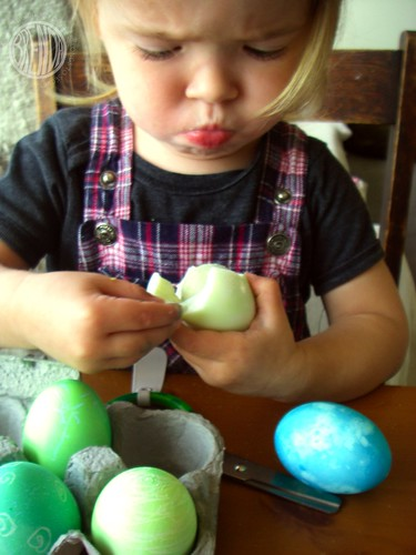 Easter eggs are yummy!