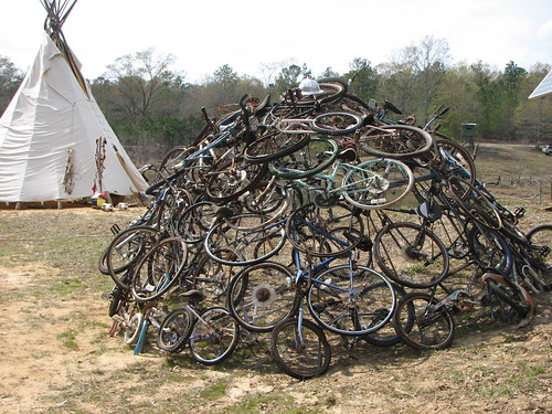 bicycle sweat lodge
