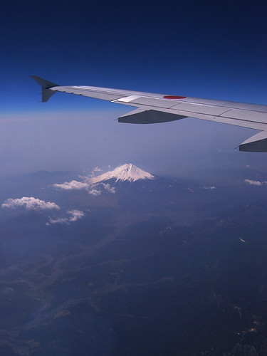 Fuji from Ana's window