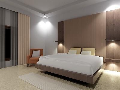 Desain Interior Ruang Tidur karya Annahape Studio, Bedroom Interior by ANNAHAPE GALLERY (Interior + Arsitektur).