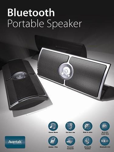Avantalk Multimedia Bluetooth Speaker