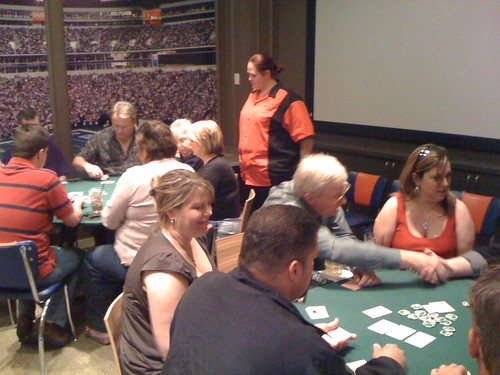 The First PELC Texas Hold'em Tournament