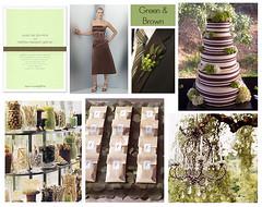 2410456386 3f3f56d658 m Baú de ideias: Decoração de casamento marrom (chocolate) e outras cores