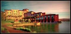Loews Lake Las Vegas Hotel Resort (unonymous) Tags: travel buildings hdr lightroom