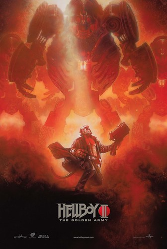 Póster de 'Hellboy 2: The golden army'