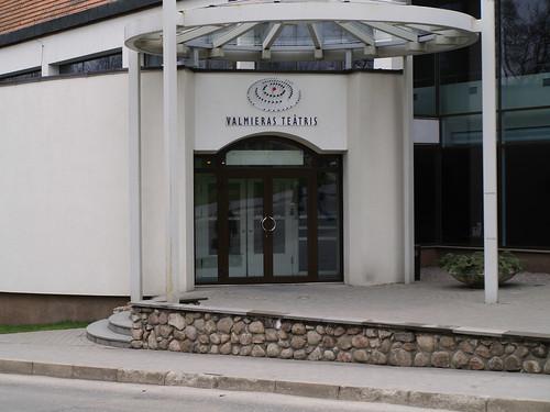 Valmieras teātra fasāde