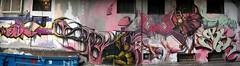 graffitinonstop 2005_afterparty (mrzero) Tags: streetart art lines wall effects graffiti 3d bush mural paint character letters poland meeting spray heat styles colored dozen graff wroclaw cfs gns turne mrzero bki graffitinonstop iork