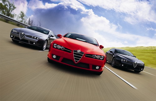 Alfa Brera S Car Limited Edition