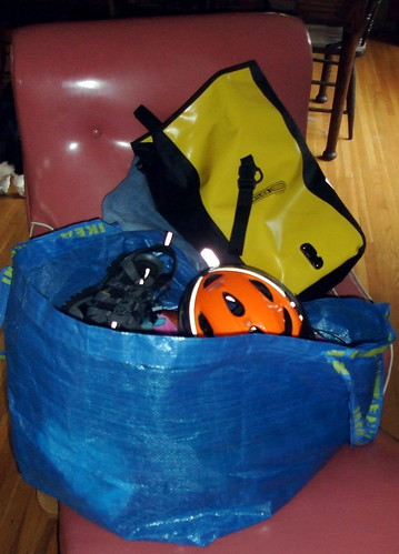 The Big Blue Bag O' Gear