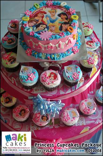Princess Cupcakes - Maki Cakes