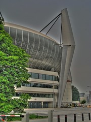 Philips Stadion (iM@n) Tags: building netherlands dutch architecture football euro nederland thenetherlands eindhoven philips structure p iranian stadion  brabant hdr psv
