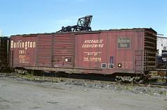 CB&Q Class XM-3B 47358 (Chuck Zeiler) Tags: cbq class xm3b 47358 burlington railroad box car boxcar freight chicago chz chuck zeiler