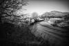 Devon and Dumyat - 04 - 14 Feb 2017.jpg (ibriphotos) Tags: dumyat 9stop monomonochromatic achromatic riverdevon bridge nd512 menstrieroad bnw clackmannanshire blackandwhite ndgrad longexposure ochilhills menstrie nd4