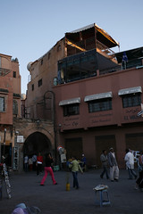 towards our riad (kat lu) Tags: morocco marrakech djemaaelfna