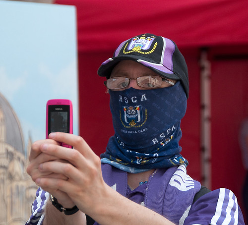 Le supporter anonyme