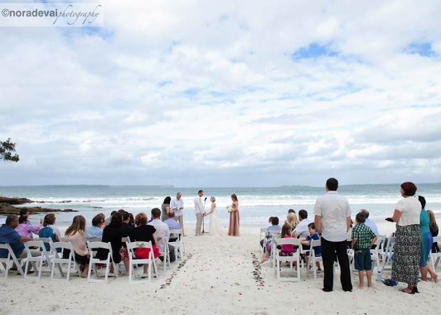 Jervis Bay Beach wedding 153