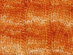 Ombre orange swatch