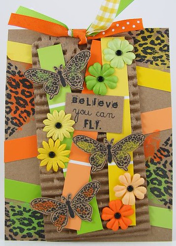 Believing Butterflies Card