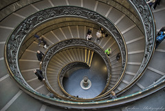 La escalera de todas las escaleras (Carhove) Tags: roma architecture arquitectura stair italia escalera vaticano staircase scala espiral olétusfotos mygearandme mygearandmepremium photographyforrecreationeliteclub infinitexposure