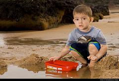 young sailor (akshath) Tags: trip blue boy india playing beach water rock canon fun 350d boat kid sand shoot exercise weekend bangalore balance gokarna om karnataka kannada crosslight uttarakannada uttara strobist akshath akshathkumarshetty lighting102 bws29sep07gokarna