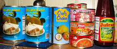 I love the Asian Market! (jenjoaquin) Tags: food asian colorful coconut curry cans indonesian tins jackfruit yumminess colorwhore