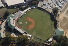 Doug Kingsmore Stadium (jmjordan) Tags: arial clemsonuniversity nikond200