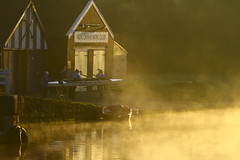 IMG_7776 (lepista) Tags: morning mist club sunrise river rowing weaver runcorn 20071020
