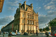 Rue de Rivoli (marathoniano) Tags: city travel viaje sunset paris france car landscape atardecer calle rue francia rivoli abigfave marathoniano anawesomeshot