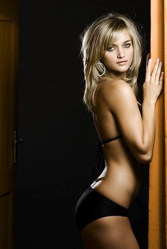 Bikini in Doorway