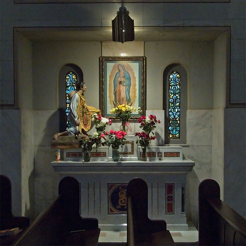 Saint Cecilia, in Saint Louis, Missouri - Guadalupe shrine.jpg
