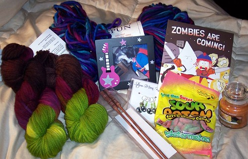 punk rock gift exchange