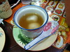 Black Sesame Glutinous Riceball in Ginger Soup