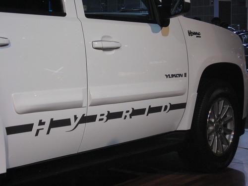 Hybrid Tahoe Yukon selling slowly.