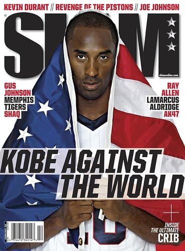 KOBE BRYANT SLAM MAGAZINE february 08 issue