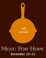Menu for Hope results
