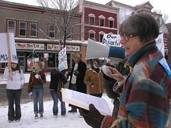 Mindful of Mining (nickaroundtheworld) Tags: march rally protest fredericton change environment climatechange climate globalwarming kyotoprotocol internationaldayofaction climatechangedayofaction internationaldayofactiononclimatechange