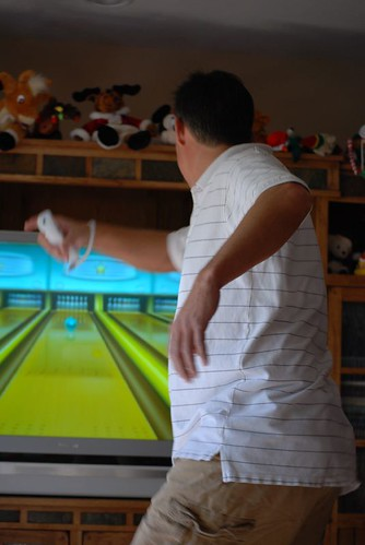 Bowling, wii style