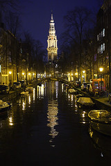 Amsterdam by night (Pawel Boguslawski) Tags: city holland water netherlands amsterdam night canon lights boat canal 40d scenicsnotjustlandscapes