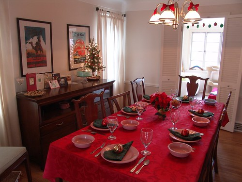 Christmas Dinner Table Setting (1228)