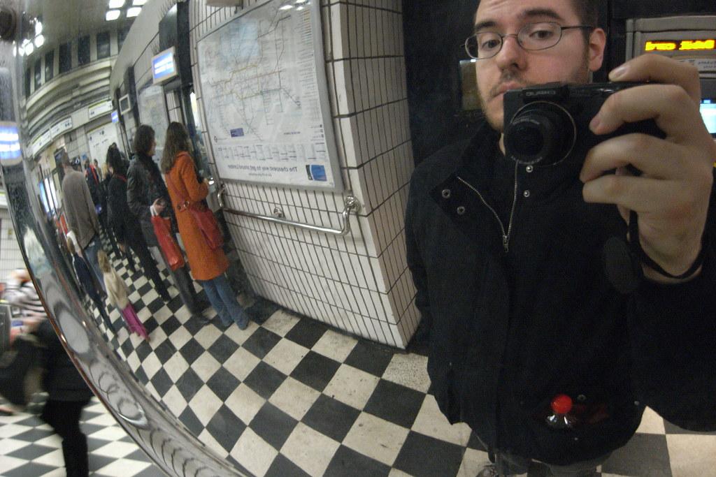 London Underground photo fun, New Years 2008