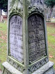 lone fir cemetery - portland, or (DeadManTalking) Tags: winter cemetery graveyard oregon portland cimetire gravemarker multnomahcounty lonefir friedhoefe whitebronze deadmantalking