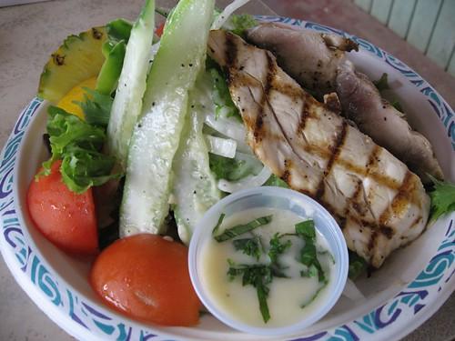 Grilled Hebi Salad
