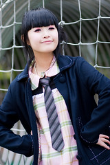 Akina (swanky) Tags: portrait people woman cute girl beautiful beauty canon asian eos md model women pretty taiwan 85mm babe belle taipei   2008 taiwanese   30d    shihlin  akina    photoimage canonef85mmf18usm  nationaltaiwanscienceeducationcenter   ntsec emiruemirue  mtv mtv ak