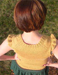 marigold-close (apples and aspen) Tags: knitting inspirations