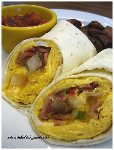 樂子墨西哥捲餅早餐Mexican Burrito for brunch