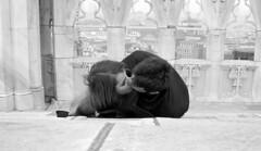 Tutto il resto  noia. (alentina georgia pegorer) Tags: love smile face fun happy hug kiss leo milano sony vale duomo amore beso viso bacio visage prospettiva gotico prospective bisoux