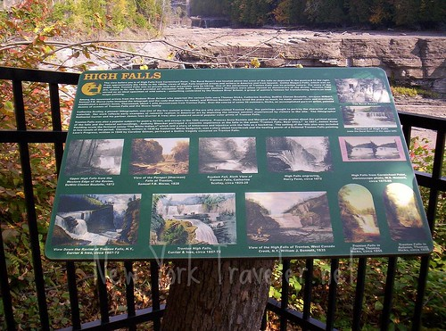 High Falls sign