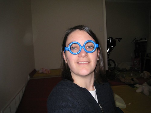 Mommy in Goo Goo Goggles